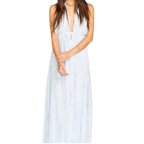 bcf4c3016 Show Me Your Mumu Luna Halter dress. M_5b8afa31c2e88e0b73eaa41c